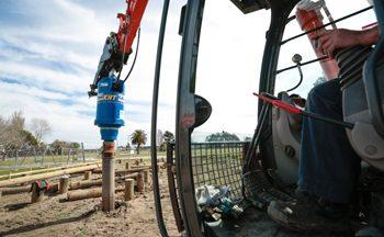 Pile Driving Construction