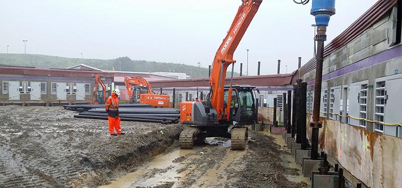 Moore Construction Digger