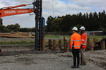 Christchurch Northern Corridor Construction