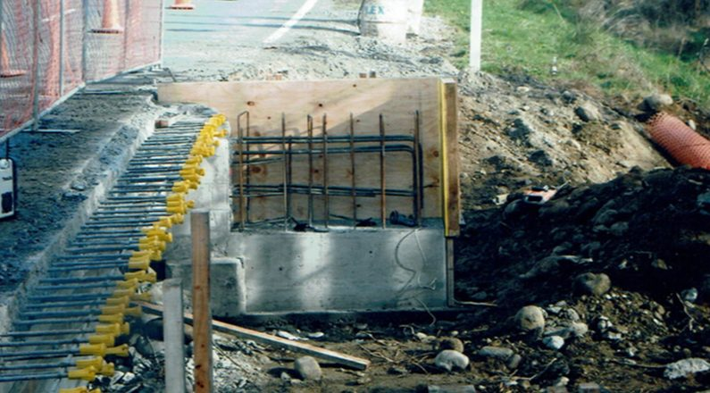 Gowers Creek Bridge Construction