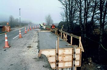 Gowers Creek Bridge Construction