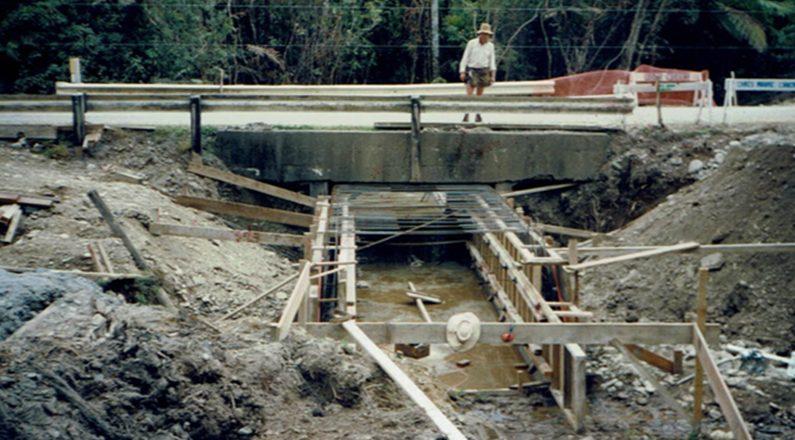 Punakaiki Culverts Construction
