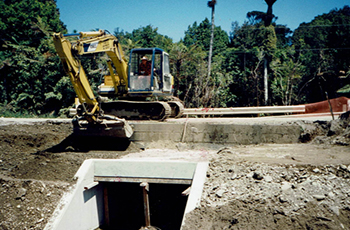 Punakaiki Culverts Construction