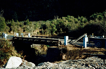 Waterfall Creek Bridge Construction
