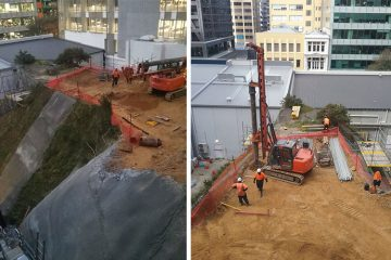 Central Wellington Foundation Drilling 1