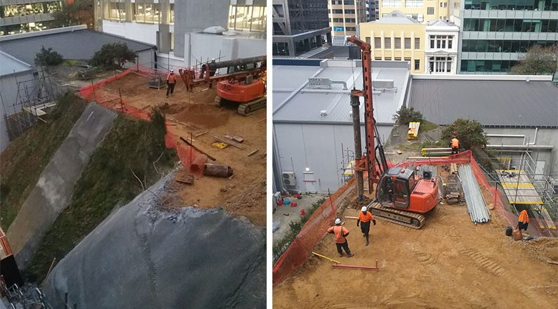 Central Wellington Foundation Drilling 1